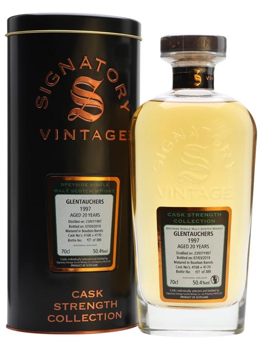 Glentauchers 1997 / 20 Year Old / Signatory Speyside Whisky