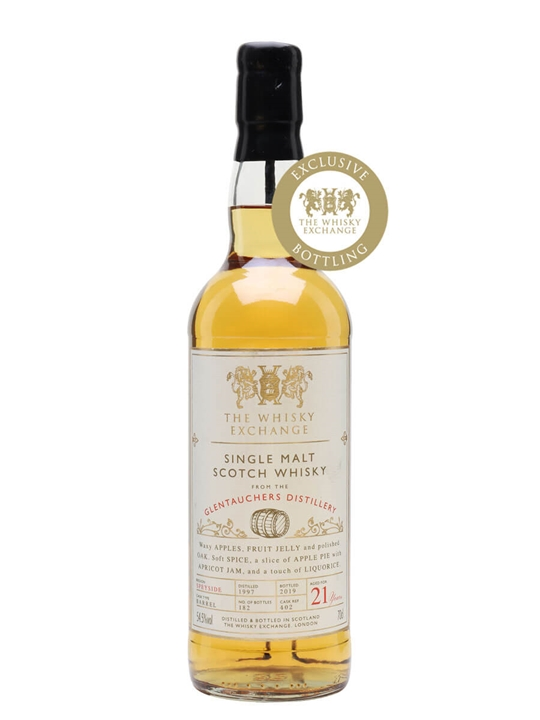 Glentauchers 1997 / 21 Year Old / The Whisky Exchange Speyside Whisky