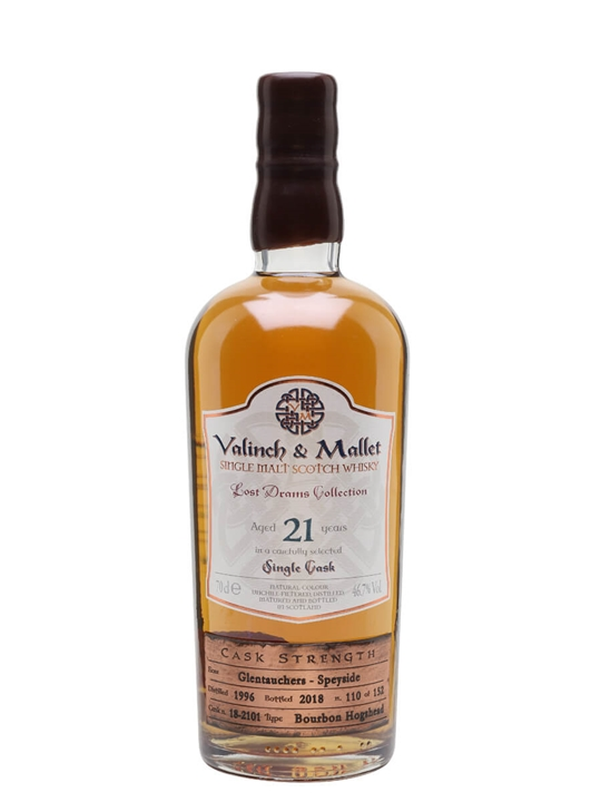 Glentauchers 1996 / 21 Year Old / Valinch & Mallet Speyside Whisky