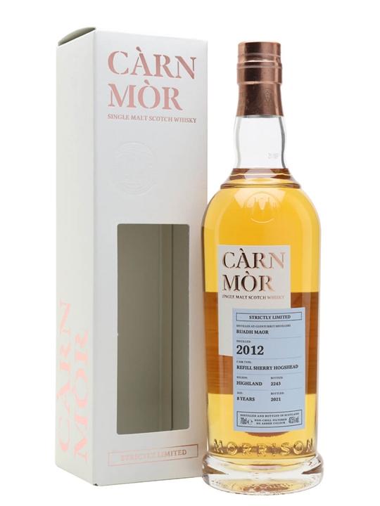 Ruadh Maor (peated Glenturret) 2012 / 8 Year Old / Carn Mor Highland Whisky