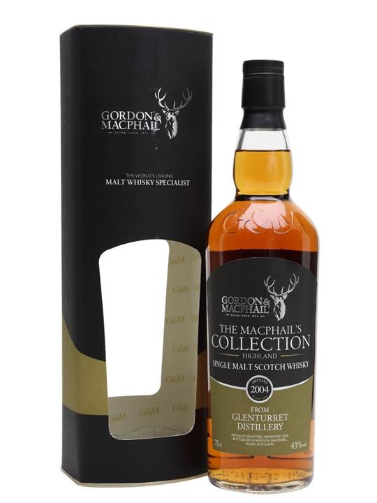 Glenturret 2004 / Macphail's Collection / Gordon & Macphail Highland Whisky