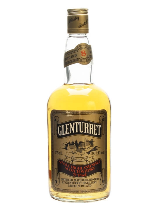 Glenturret 8 Year Old / Bot.1970s Highland Single Malt Scotch Whisky