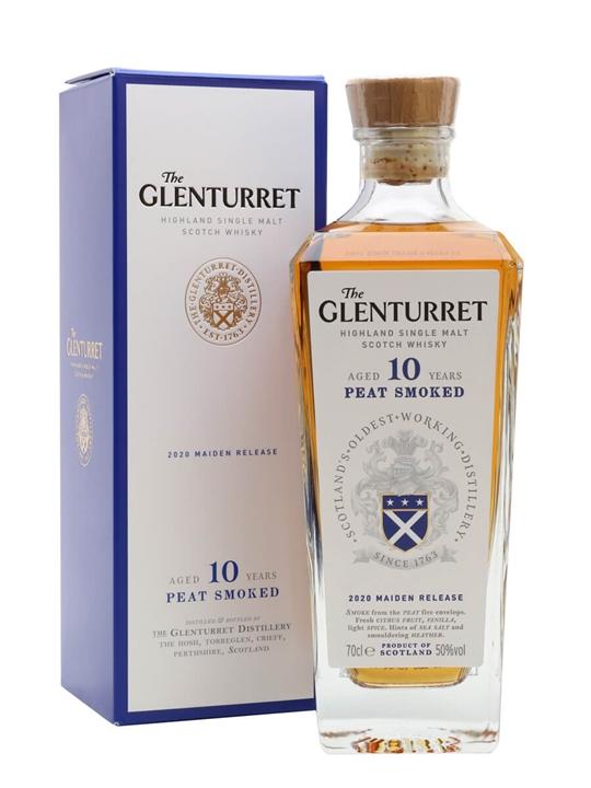 Glenturret 10 Year Old Peat Smoked / 2020 Maiden Release Highland Whisky
