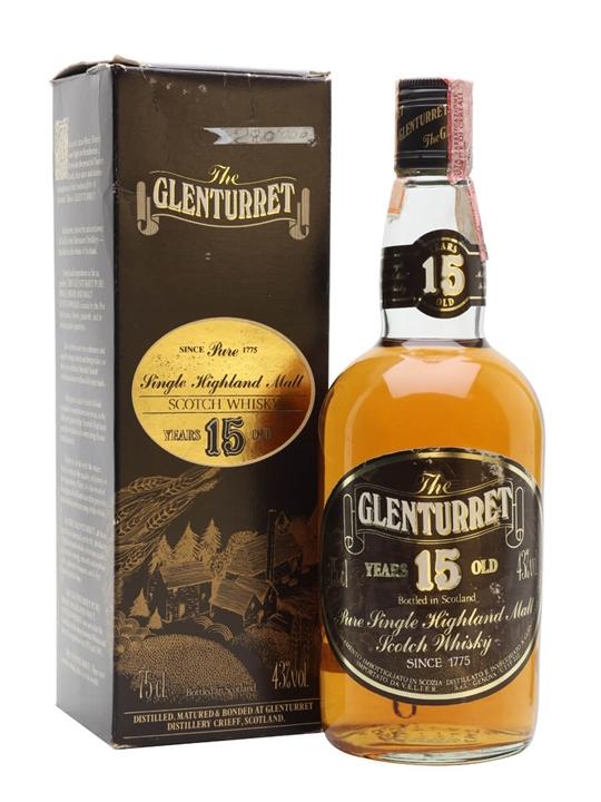 Glenturret 15 Year Old / Bot.1980s Highland Single Malt Scotch Whisky