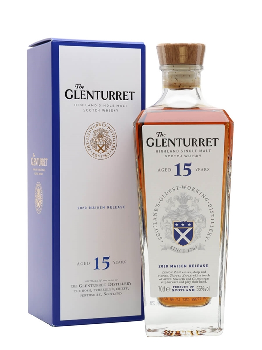 Glenturret 15 Year Old / 2020 Maiden Release Highland Whisky