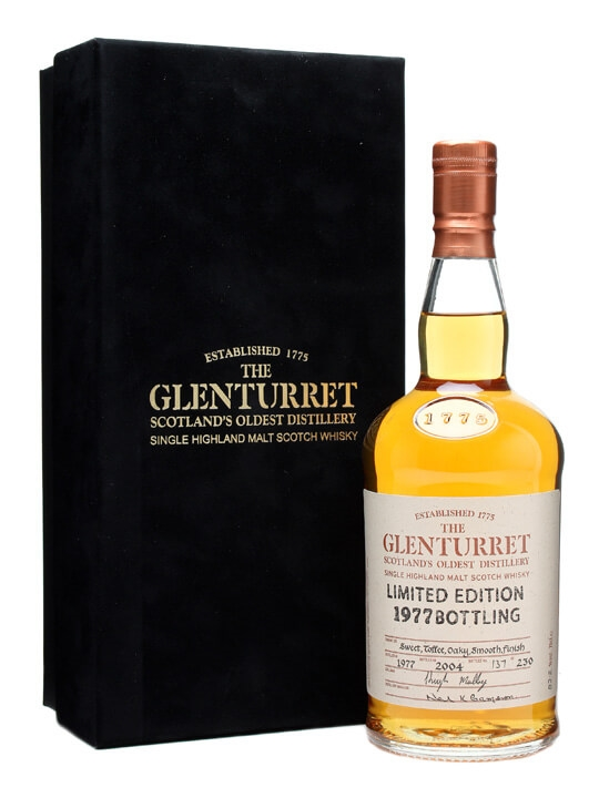 Glenturret 1977  Bot.2004 Highland Single Malt Scotch Whisky