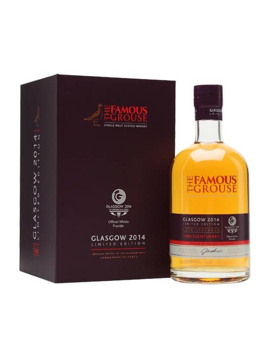 Glenturret 1986  Famous Grouse  Commonwealth Games 2014 Highland Whisky