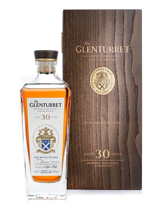Glenturret 30 Year Old / 2020 Maiden Release Highland Whisky