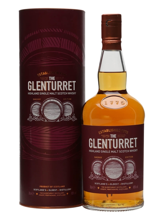 Glenturret Sherry / European Edition Highland Whisky