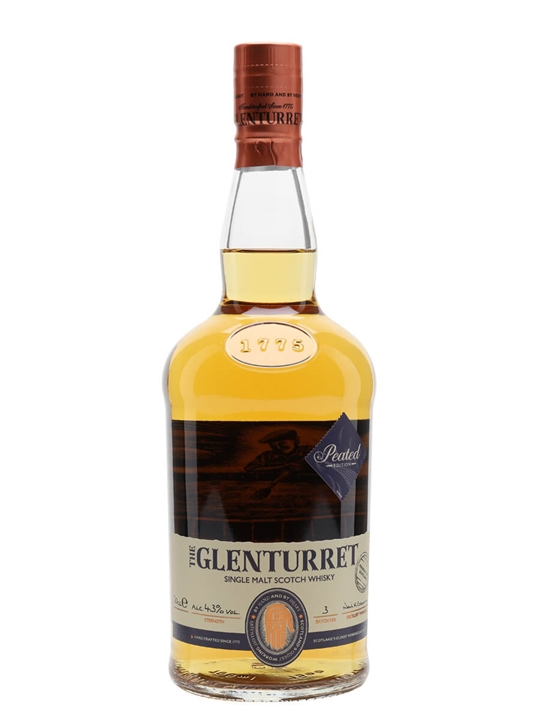 Glenturret Peated Edition Highland Single Malt Scotch Whisky