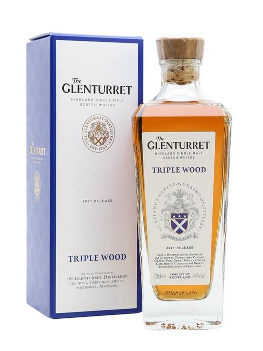 Glenturret Triple Wood / 2021 Release Highland Whisky