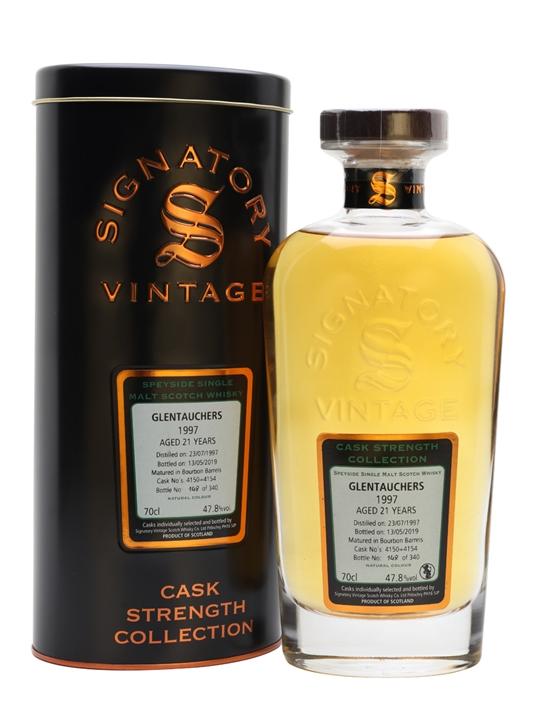Glentauchers 1997 / 21 Year Old / Signatory Highland Whisky