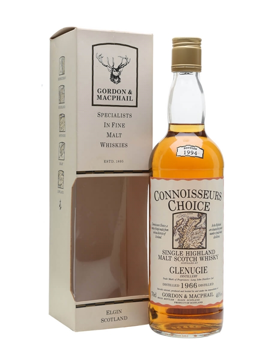 Glenugie 1966 / Bot.1994 / Connoisseurs Choice Highland Whisky