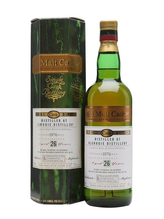 Glenugie 1976 / 26 Year Old / Old Malt Cask Highland Whisky