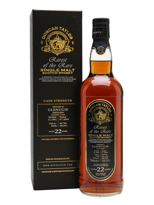 Glenugie 1981 / 22 Year Old / Sherry Cask #5156 Highland Whisky