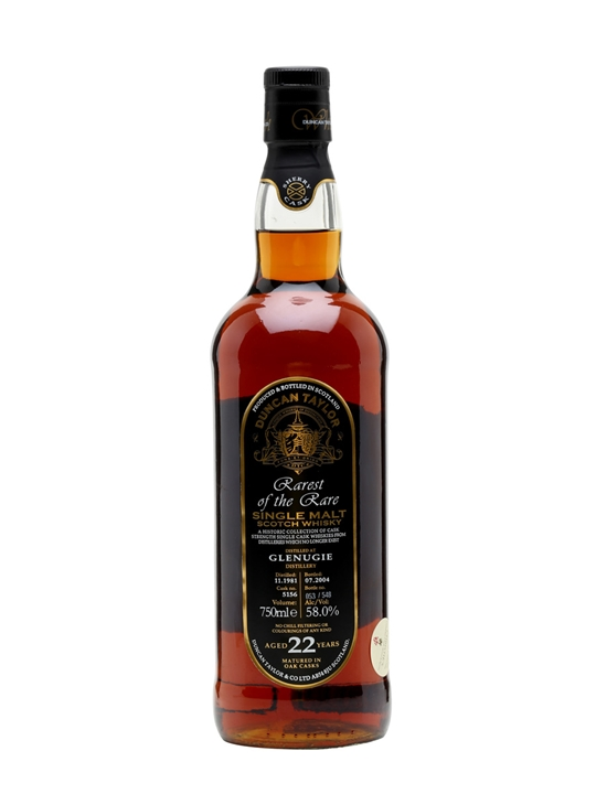 Glenugie 1981 / 22 Year Old / Duncan Taylor Highland Whisky