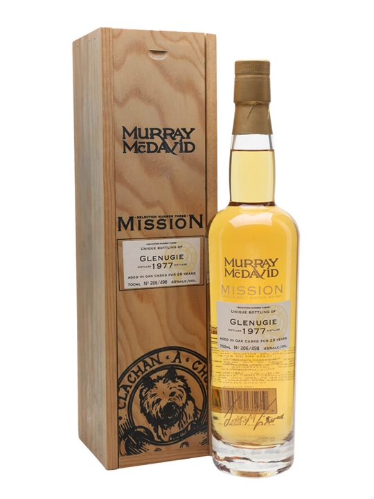 Glenugie 1977 / 26 Year Old / Murray McDavid Highland Whisky