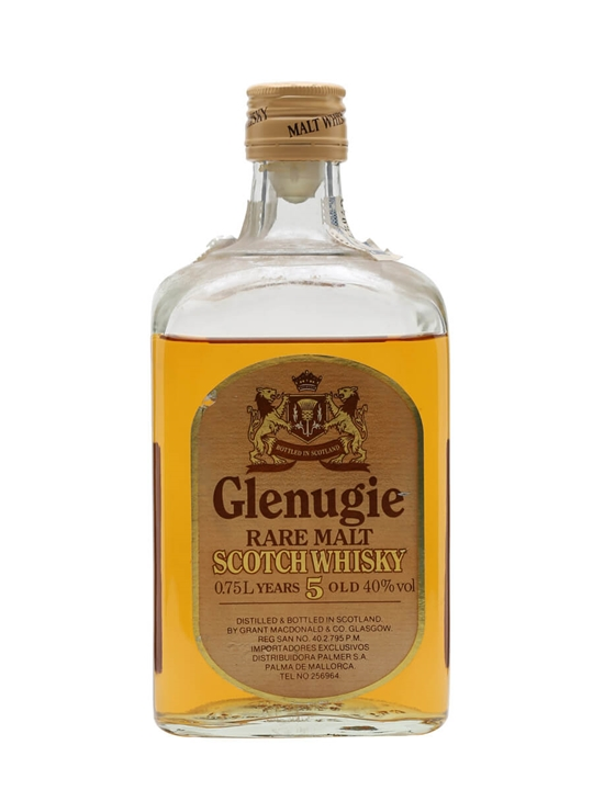 Glenugie 5 Year Old / Bot.1980s Highland Single Malt Scotch Whisky