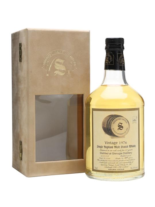 Glenugie 1976 / 27 Year Old / Signatory Highland Whisky