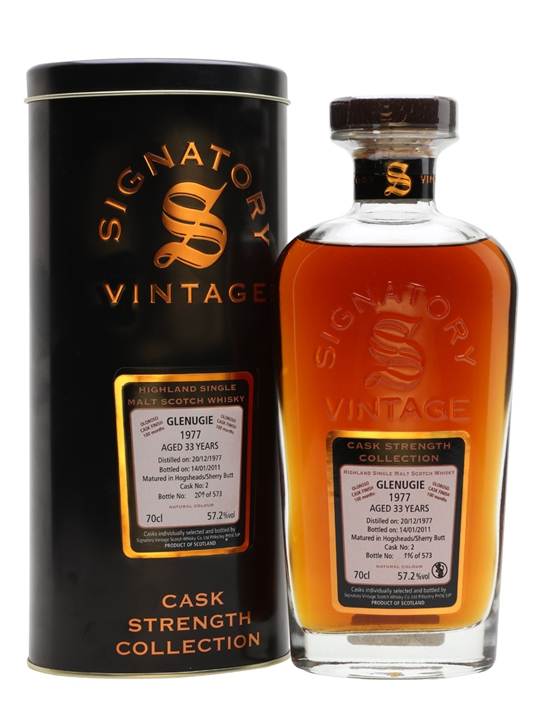 Glenugie 1977 / 33 Year Old / Oloroso Finish / Signatory Highland Whisky