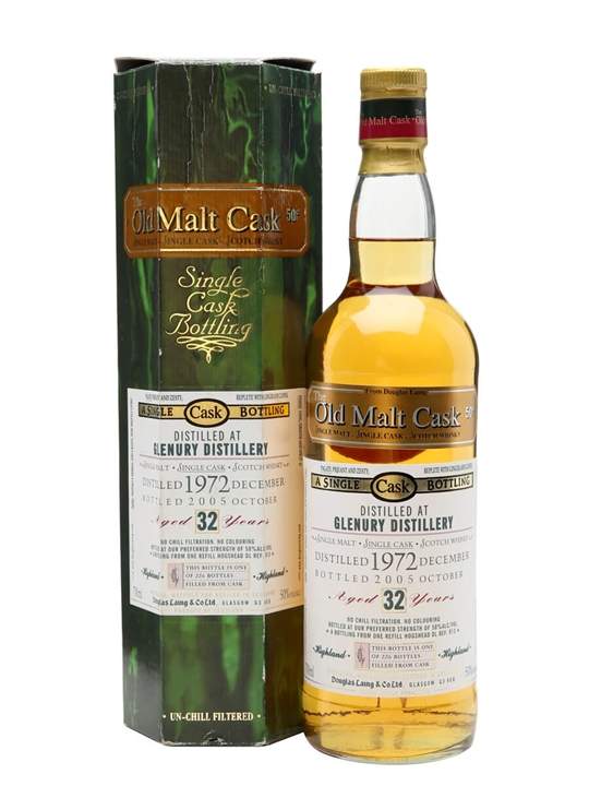 Glenury 1972 / 32 Year Old / Old Malt Cask Highland Whisky