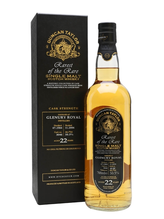 Glenury Royal 1984 / 22 Year Old Highland Single Malt Scotch Whisky