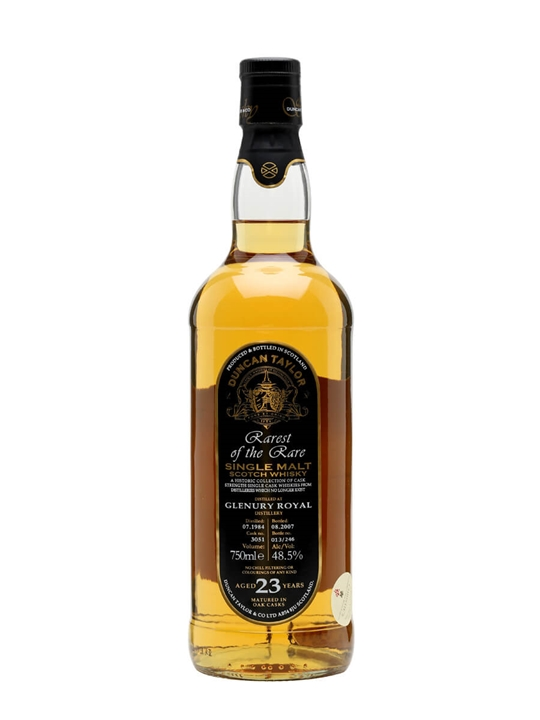 Glenury Royal 1984 / 23 Year Old / Duncan Taylor Highland Whisky