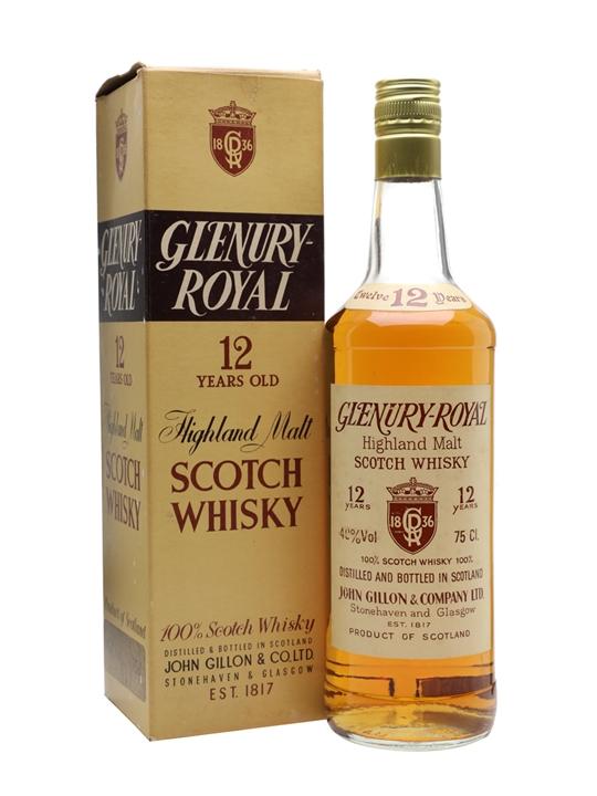 Glenury Royal 12 Year Old / Bot.1980s Highland Whisky
