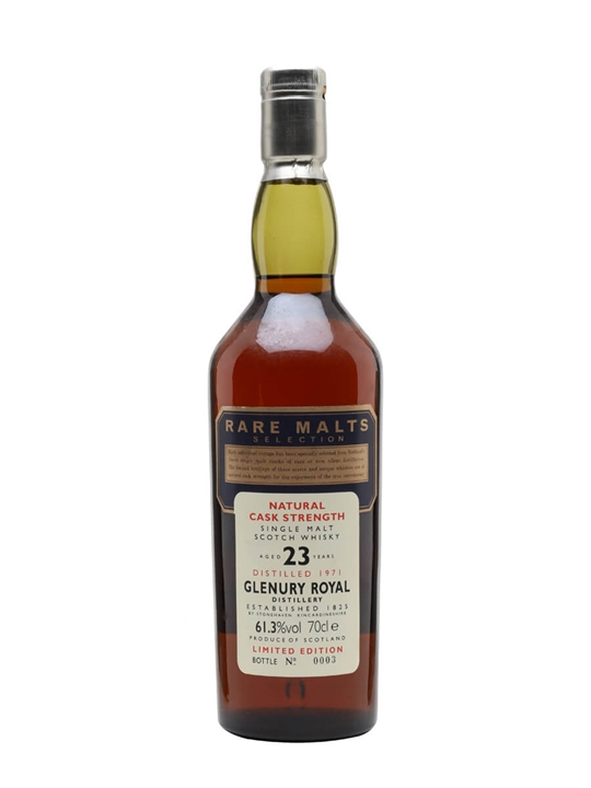 Glenury Royal 1971 / 23 Year Old / Rare Malts Highland Whisky