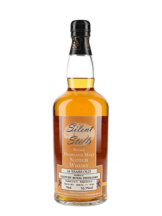 Glenury Royal 1973 / 24 Year Old / Silent Stills Highland Whisky