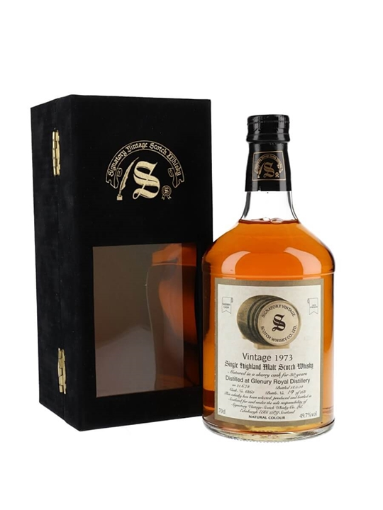 Glenury Royal 1973 / 30 Year Old / Sherry Cask / Signatory Highland Whisky