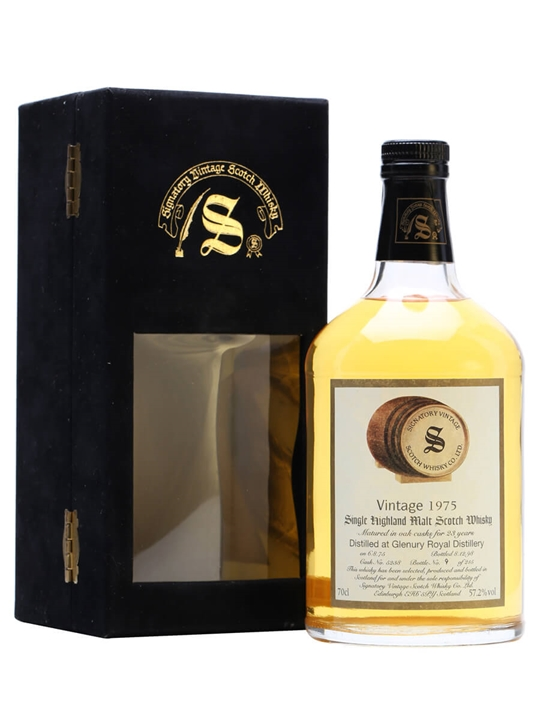 Glenury Royal 1975 / 23 Year Old / Cask #5238 Highland Whisky
