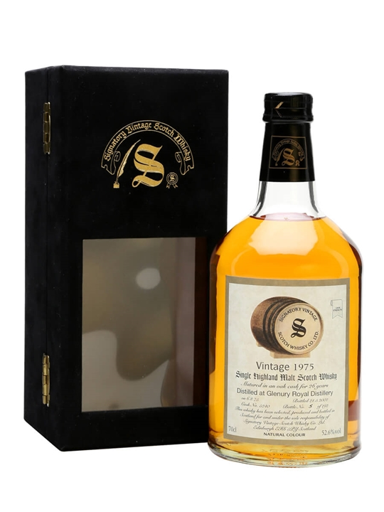 Glenury Royal 1975 / 26 Year Old / Signatory Highland Whisky