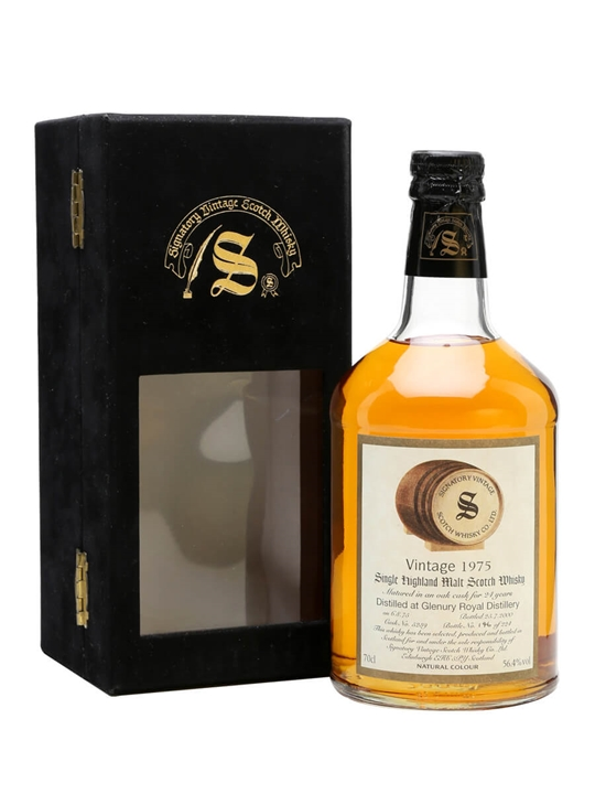 Glenury Royal 1975 / 24 Year Old / Signatory Highland Whisky