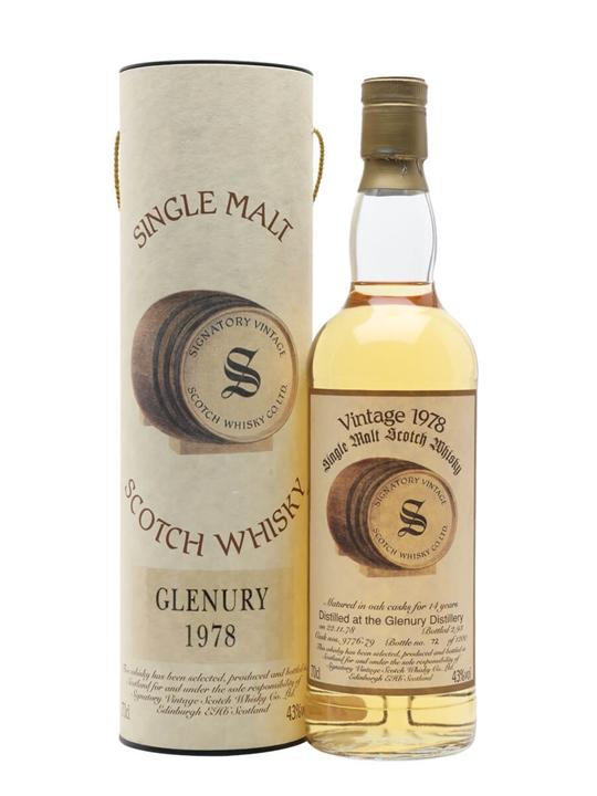 Glenury 1978 / 14 Year Old / Cask 9776-79 Highland Whisky