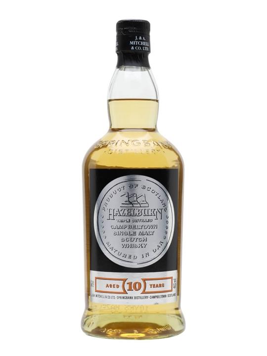 Hazelburn 10 Year Old Campbeltown Single Malt Scotch Whisky