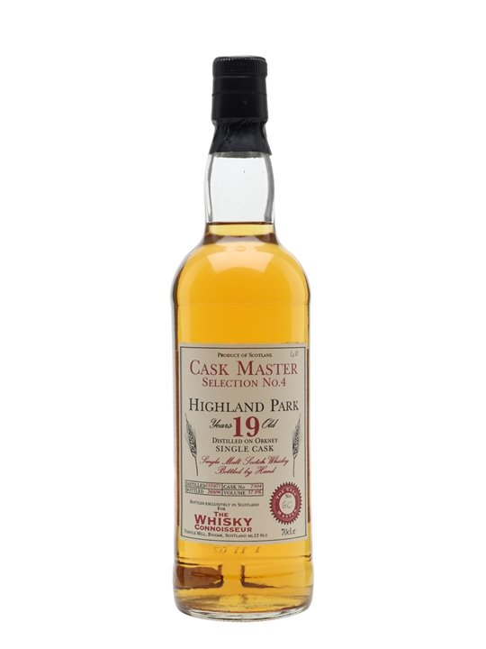 Highland Park 1977 / 19 Year Old / Cask Master Selection Island Whisky