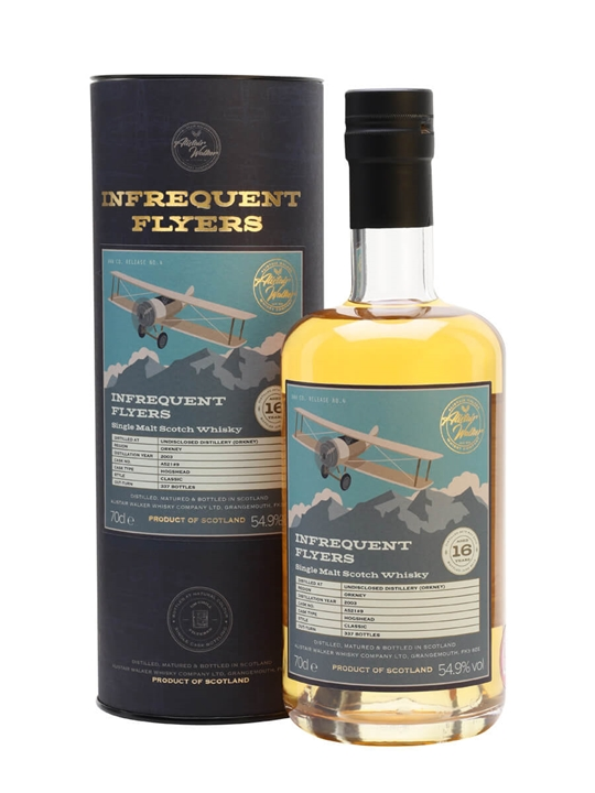 Undisclosed (Orkney) 2003 / 16 Year Old / Infrequent Flyers Island Whisky