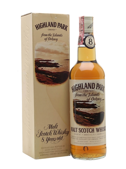 Highland Park 8 Year Old / Bot.1970s Island Single Malt Scotch Whisky