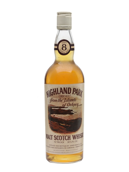 Highland Park 8 Year Old  Bot.1980s Island Single Malt Scotch Whisky