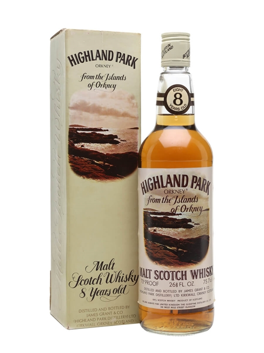 Highland Park 8 Year Old  Bot.1970s Island Single Malt Scotch Whisky