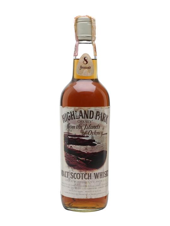 Highland Park 8 Year Old / Bot.1970s Island Single Malt Scotch Whisky