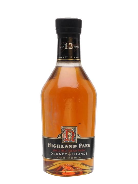 Highland Park 12 Year Old / Bot.1990s Island Single Malt Scotch Whisky