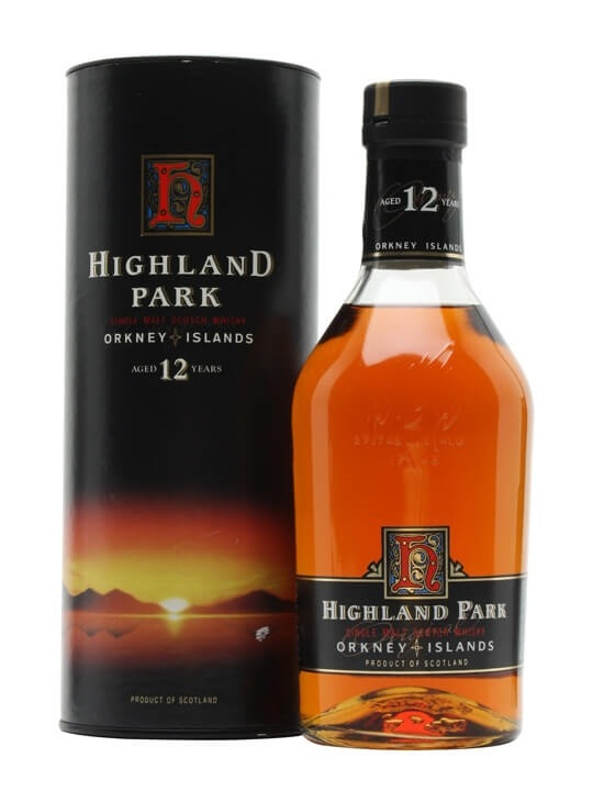 Highland Park 12 Year Old / Bot.Early 1990s Island Whisky