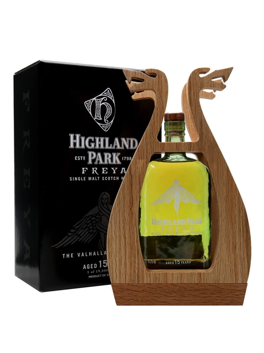 Highland Park Freya / 15 Year Old / Valhalla Collection Island Whisky