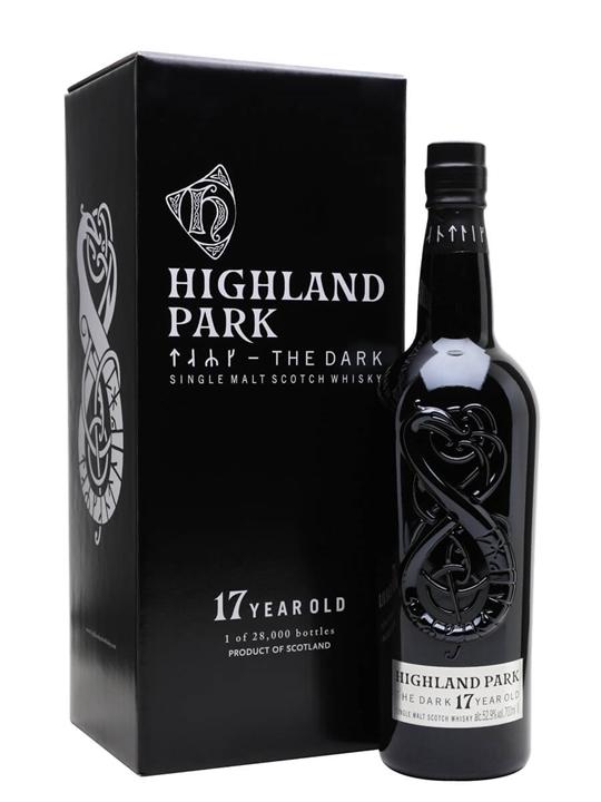Highland Park The Dark 17 Year Old Island Single Malt Scotch Whisky