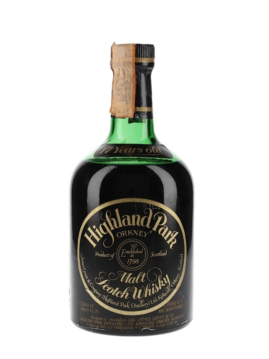 Highland Park 1960 / 17 Year Old / Bot.1977 Island Whisky