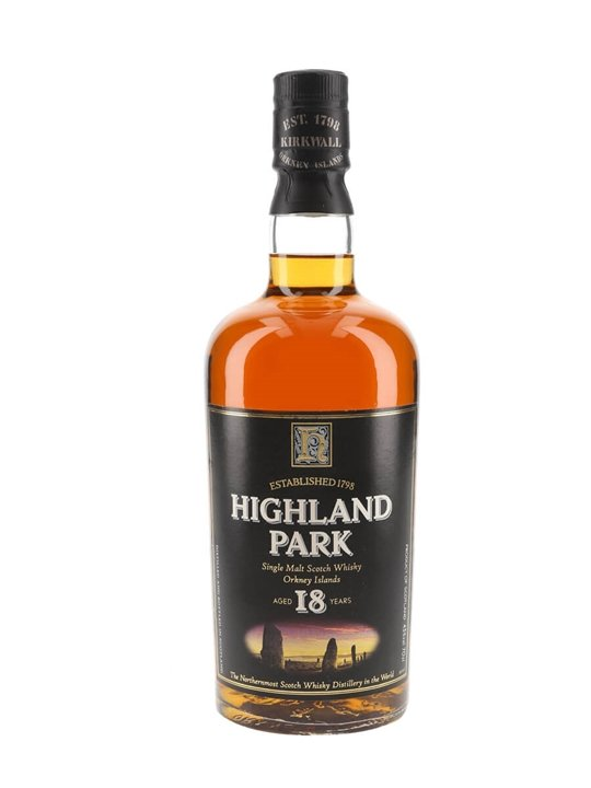 Highland Park 18 Year Old / Bot.1990s Island Single Malt Scotch Whisky