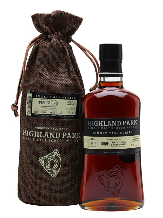 Highland Park 2003 / 16 Year Old / Sherry Cask / TWE Exclusive Island Whisky