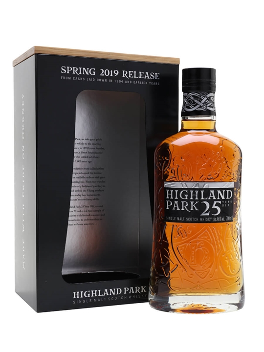 Highland Park 25 Year Old / 2019 Edition Island Whisky